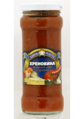Salsa picante con rabano HRENOVINA 12x300gr TR