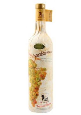 Vino blanco semidulce  CHARDONNAY  11%alk.12x0.75L