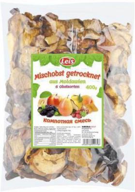 Surtido de frutas secos para compota de 6 ingredientes 400gr LEIS