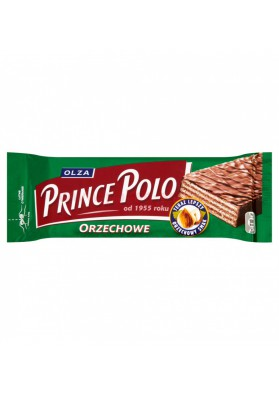 Barquillos glaseados sabor cacahuete PRINCE POLO 32x35g OLZA
