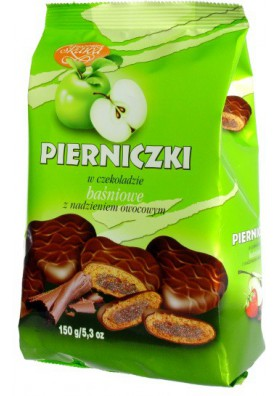Melindre relleno de manzana en chocolate 12x150gr SKAWA