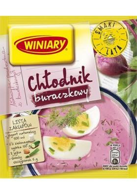 Sopa en frio con remolacha en polvoCHLODNIK 30x46gr WINIARY