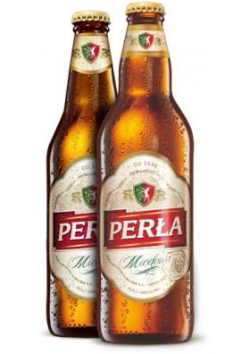 Cerveza PERLA DE MIEL 6%alc.20x0.5L