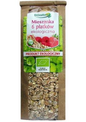 Mezcla copos de 6 cereales organico 10x400gr BIONATURO