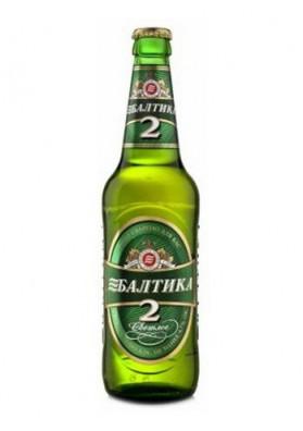 Cerveza Baltika 2 20x0.45L 4.7%alk.