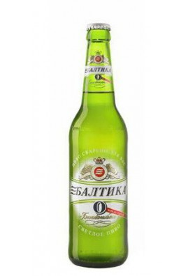 Cerveza Baltika 0 0.5%alk.20x0.47L