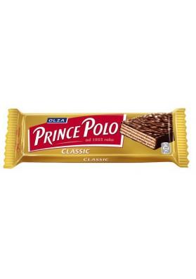 Вафли в шоколаде PRINCE POLO 32x35gr OLZA