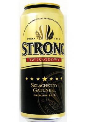 Cerveza STRONG 24x0.5L 7.0%alk. lata