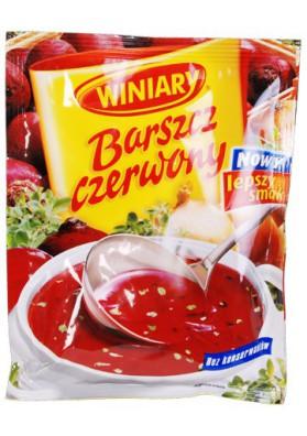 Sopa de remolacha en polvo 20x49gr WINIARY