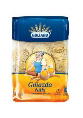 Pasta GNIAZDA NITKI 15x400gr GOLIARD
