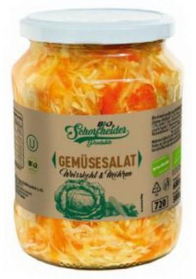 BIO Ensalada de verduras de col y zanahoria 12x680gr ALDIM
