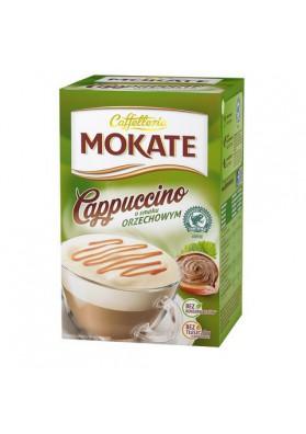 Capuchino MOKATE con sabor de nuez 10x15gr CAFFETTERIA