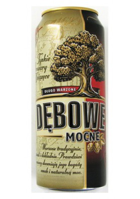 Cerveza DEBOWE 24x0.5L 7.0%alk. lata