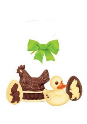 Figura de chocolate  UPOMINEK Z KACZUSZKA 10x100gr PL