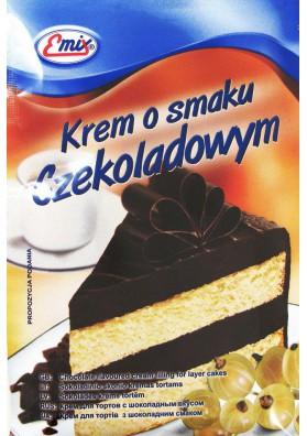 Crema de chocolate para tarta 100gr EMIX