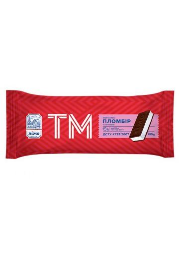 Helado TM PLOMBIR con galletas 25x100gr LIMO