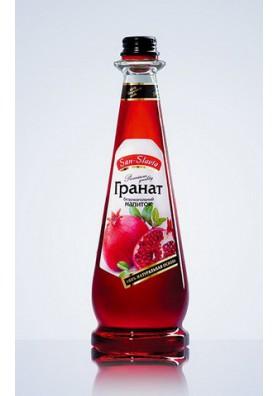 Bebida carbonatada con sabor granada 12x0.5L SAN-SLAVIA