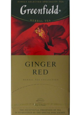 Te Greenfield  GINGER RED 10x25x2gr