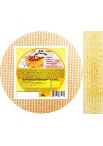 Hojas de barquillas redondo para tarta 16x90gr VECAIS BEKERIS