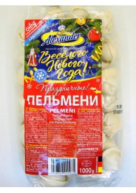 Pelmeni PRAZDNICHNIE 15x1kg ALEXANDER