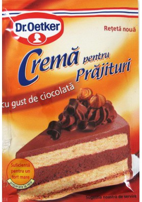 Crema para tarta sabor chocolate 25x55gr Dr.Oetker