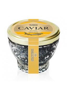 Caviar negro de esturion  AMUR ROYAL 150gr  LEMBERG