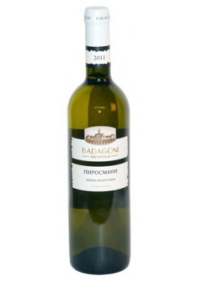 Vino blanco semiseco  PIROSMANI 12%alc.6x0.75L BADAGONI