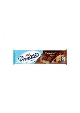 Barquillos en chocolate Princessa Planeta Singli 30x31gr NESTLE