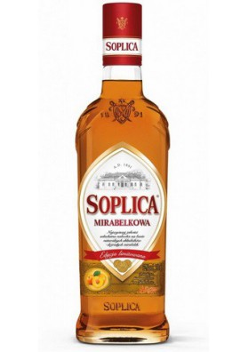 Vodka SOPLICA con sabor de albaricoque 30%alk  500ml