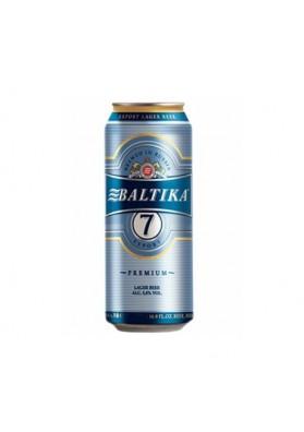 Cerveza BALTIKA Nº7 PREMIUM 5.4% 24X450ML lata