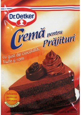 Crema para tarta sabor chocolate con ron 25x57gr Dr.Oetker