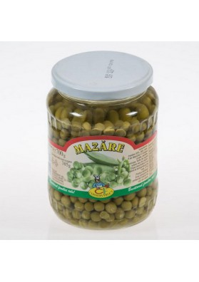 CONSERVFRUCT Guisantes verdes MAZARE 6X700gr