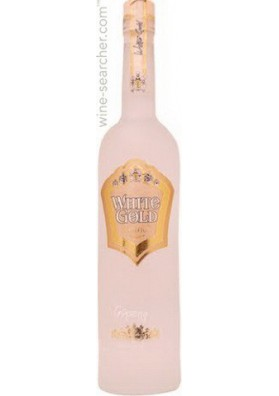 Vodka WHITE GOLD GINSENG 40%alk.0.5L