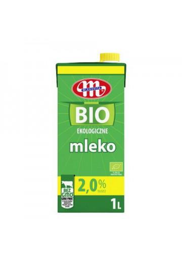 BIO Leche ecologico 2%grasa 12x1L MLEKOVITA