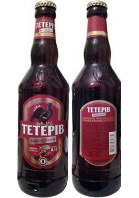 Cerveza TETERIV con sabor de guinda 8.0%alc. 20x0.5L PERSHA PRIVATNA