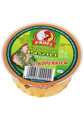Pate de pollo con eneldo 12x131gr PROFI