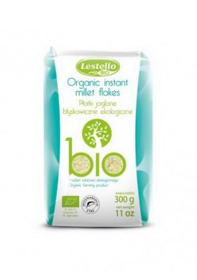 BIO Copos de mijo limpio organico 300gr LESTELLO