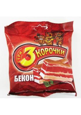 Picatostes de pan negro sabor beicon 60x45gr TRI KOROCHKI