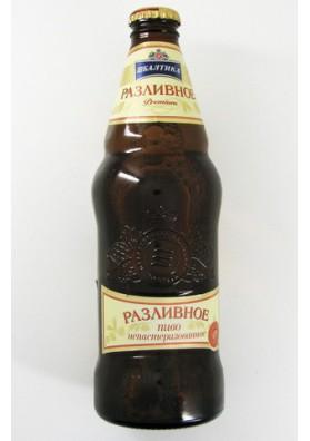 Cerveza BALTIKA  PREMIUM no pasterizado 5.3%alk.20x0.5L