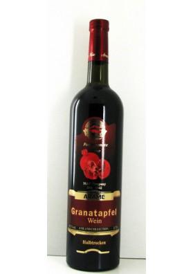 Vino tinto semiseco  GRANATAPFEL  11.5%alk.12x0.75L