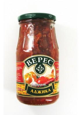 Salsa picante  ADZHIKA OSTRAYA  12x530gr VERES