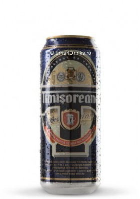 Cerveza  TIMISOREANA  24x0.5L  5.0% alc.lata
