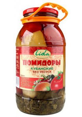 Tomate concervado  KUBANSKIE 6x1850gr LIDA