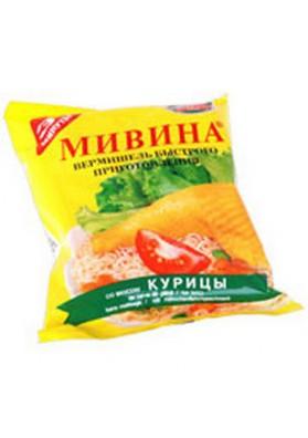 Макароны со вкусом курицы и лука 104x50гр МИВИНА