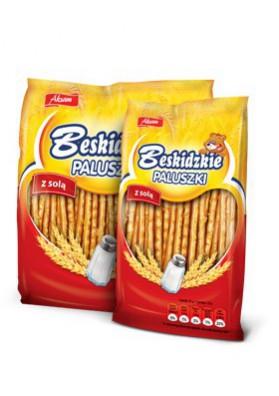 Palitos de pan con sal  PALUSZKI 24x70gr AKSAM