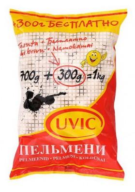 Pelmeni de carne de cerdo,ternera y pollo 1kg UVIC