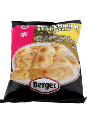 Вареники с картошкой 500гр BERGER