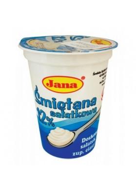 Crema agria 12%grasa 12x400gr.JANA