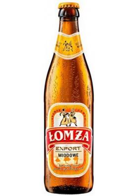 Cerveza  LOMZA de miel 5.7%alc. 20x0.5L