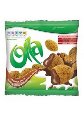 Snacks  OLLA con crema de avellana 100gr